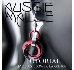 Mobius Flower Earrings