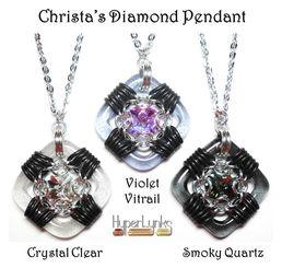 Christa's Diamond Pendant