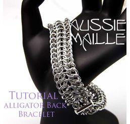 Alligator Back Bracelet Tutorial