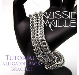 Alligator Back Bracelet Tutorial