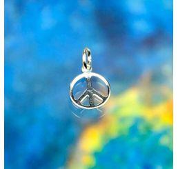 peace symbol charm