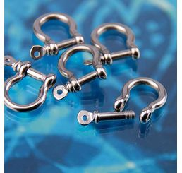 Stainless Steel Shackle Clasp