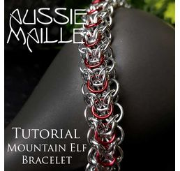Mountain Elf Bracelet Tutorial
