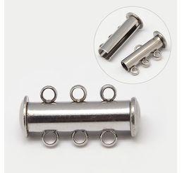 SlideLock Stainless 3 rings