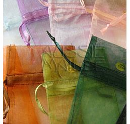 Organza Bags Large