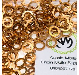 Square Wire Bronze 18G