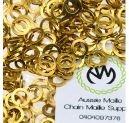 Square Wire Jewellery Brass 20G