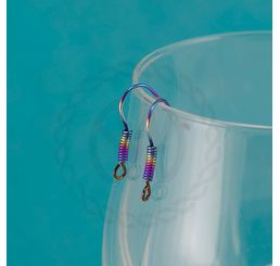 Anodized Niobium Ear Wires