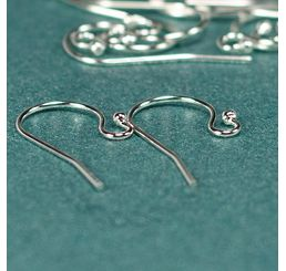 Silver Filled Ear Wires