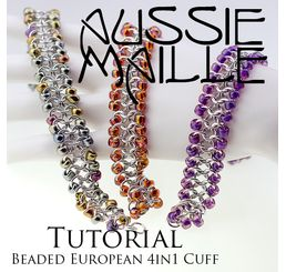 Beaded European4in1