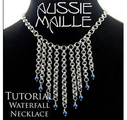 Waterfall Necklace Tutorial
