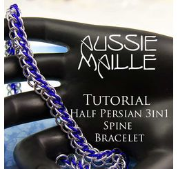 HP3in1Spine Bracelet Tutorial