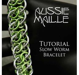 Slow Worm Bracelet Tutorial