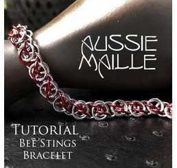 Bee Stings Bracelet Tutorial