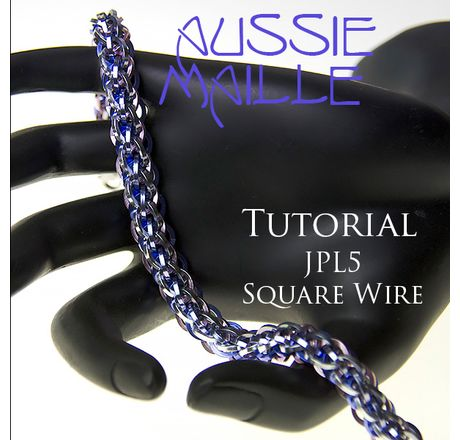 JPL5 Square Wire Bracelet