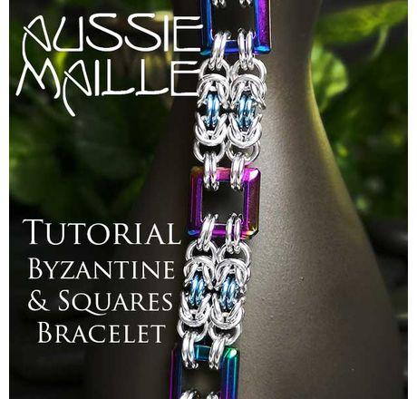 Byzantine & Squares Bracelet