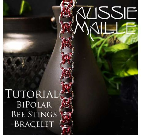 Bi Polar Bee Stings Bracelet Tutorial