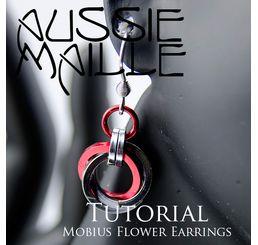 Mobius Flower Earrings