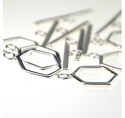 sterling silver toggle