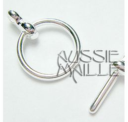 Silver Plate Toggle
