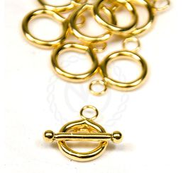gold filled toggle clasp