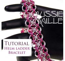 Helm Ladder Bracelet Tutorial