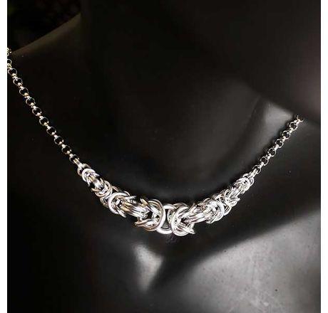 Graduating Byzantine Necklace