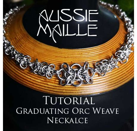 Graduating Orc Weave Necklace Tutorial