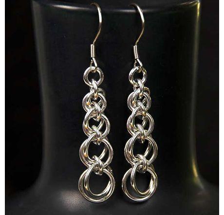 Graduating One Ring Earrings