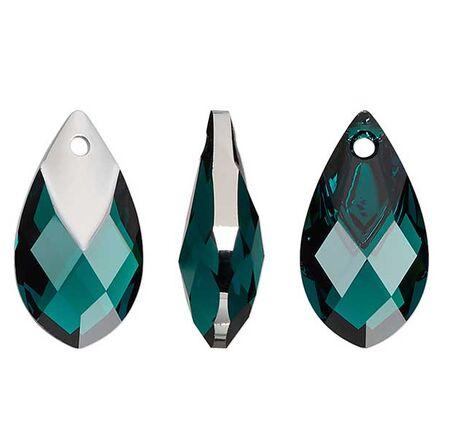 Swarovski Chrome Pear