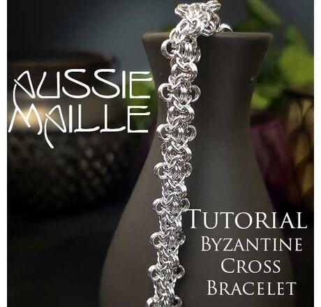 Byzantine Cross Bracelet