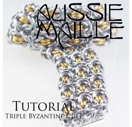 Triple Byzantine Cuff