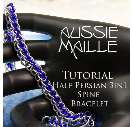 HP3in1Spine Bracelet Tutorial