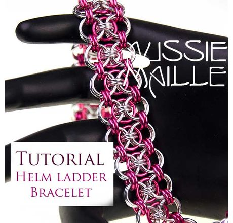 Helm Ladder Bracelet Tutorial